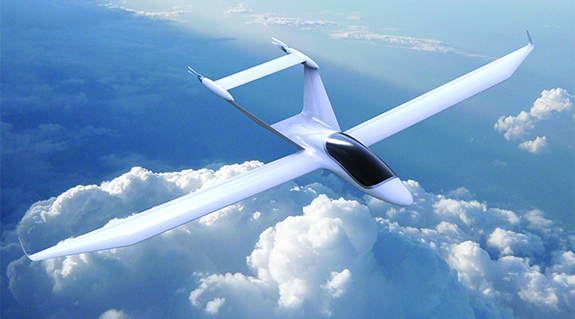 Small electric plane