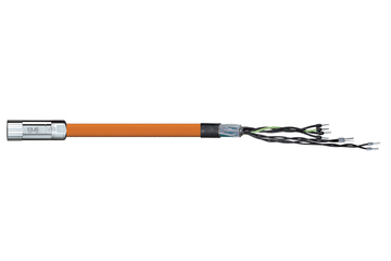 readycable® encoderkabel volgens LTi DRIVES standaard KM3-KSxxx basiskabel, PUR 7,5 x d
