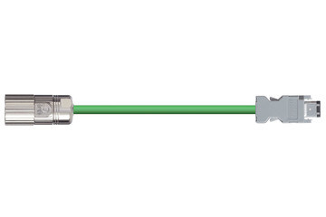 readycable® encoderkabel volgens Omron standaard R88A-CRWA-xxxC-DE, basiskabel PUR 7,5 x d