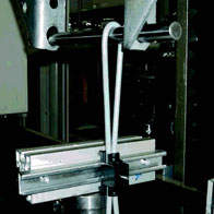 igus® chainfix clamp in the tensile strength test